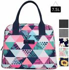 7.5L Lunch Box Container Thermal Cooler Foldable Tote Bag for Office Picnic