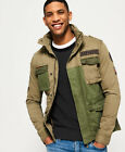 Superdry Mens Rookie Mixed Military Jacket <br/> RRP £89.99 - BUY FROM THE OFFICIAL SUPERDRY EBAY STORE