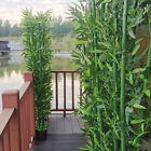 2pcs/10pcs Artifical Bamboo Leaves Plastic Green Plants Branches Home Office