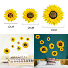 1xsun Flower Decals Home Wall Stickers Graphics Nursery Window Art Decoration Uk