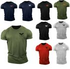 Mens Gym T Shirt  Bodybuilding Top Workout Clothing UK Training GYM Clothing MMA