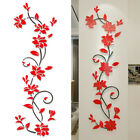 3d Flower Decal Vinyl Decor Home Living Room Wall Sticker Removable Mural New