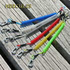 Fishing Lanyard Safety Rope Coiled Retractable Tether Securing Plier Key Whistle