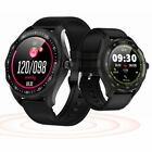 Bluetooth Smart Watch Heart Rate Sleep Monitoring for iPhone Samsung S10 S9 S8 bluetooth Featured for heart iphone monitoring rate samsung sleep smart watch