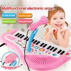 37 Key Kids Electronic Keyboard Piano Musical Toy with Microphone for Children  s
