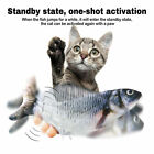 Moving Cat Kicker Fish Toy Interactive Cat Toy Realistic Flopping Fish