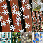 4M Snowflake Flag String Winter Christmas-Party Home Holiday-Decoration Supply