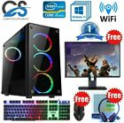 Fast Intel Quad Core I5 Gaming Pc Computer 8gb Ram 1tb Hdd Windows 10 Gt 710 2gb