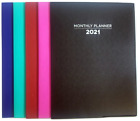2021 Monthly Planner For Organizing Your Calendar 7.5x10.25, Select Your Color!