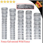 Garden Fence Galvanized Chain Mesh Wild Fence Post Durable Wires Fencing Animal