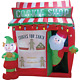 Southern Joy 6 Ft. Santa Cookie Shop Airblown Inflatable INF-521049  - 1 Each