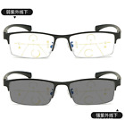 Anti Blue ray Multifocal Progressive Transition grey Reading glasses Far/near