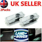 Cree Led Car Door Logo Light Puddle Shadow Laser Projector Lamp For Land Rove Uk