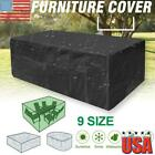 Waterproof Garden Patio Furniture Cover Dustproof Rattan Table Cube Sofa Outdoor