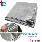 Durable Heavy Duty Tarp Poly Canopy Tent Shelter Reinforced Resistant Tarpaulin