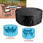 Garden Patio Furniture Set Heavy Duty 4/6 Round Seater Table Waterproof Cover