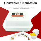 55 Egg Incubator Automatic Digital LED Turning Chicken Duck Poultry Bird