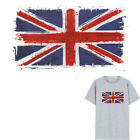 1PC British Flag Parches Washable Print On T-Shirt Iron On Patch Nd