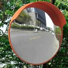 """18/24"""" Wide Angle Traffic Convex Mirror Safety Driveway Road Outdoor Security PC"""