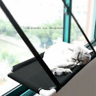 Pet Cat Window Mounted Durable Soft Seat Hammock Perch Bed Hold Up To 10KG UWQQ
