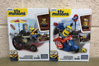 MINIONS MEGA BLOKS SETS (FLYING GOT DOGS/ SCOOTER ESCAPE)
