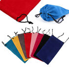 Color Sunglasses Bag Glasses Cloth Bags Eyeglasses Pouch Drawstring Pouch Bags