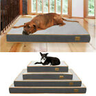 L-XXXL Extra Large Pet Bed Plush Mattress Heavy Duty Orthopedic Dog Bed Washable