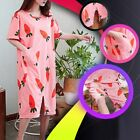 New Women Pant  Dress Two type Wear Print Long Dress Nightwear Outfits Sets