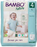 Bambo Nature Size 4 Premium Training Pants 13-31 lbs/7-14 kg Pack of 20
