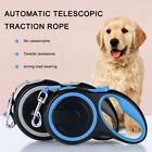 3/5/8m Retractable Dog Leads Pet Padded Extending Leash Tape Cord Max 50kg PS