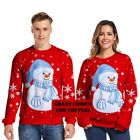 Christmas Family Pajamas Funny Sweater for Men Women Couple 3D Clothes Jumper