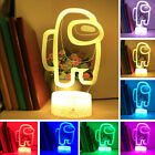 For Among 3D Night Light Acrylic LED Table Lamp Xmas Gift birthday gift Game