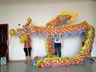 Chinese Traditional Culture DRAGON DANCE dragon Folk Costume stage prop 10m