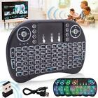 Backlight i8 Wireless Keyboard 2.4GHz Keyboard Remote Touchpad For PC TV Box US