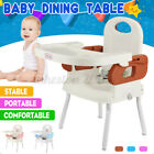Adjustable Baby Feeding High Chair Dining Safety Belt Convertible Toddler Home