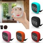 Touch Screen Alarm Clock USB Electronic LED Shockproof Silicone Snooze
