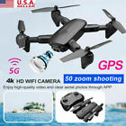 4DRC-F6 Drone with 2K Camera GPS FPV RC Quadcopter 5GHz Follow Me 2021 NEW