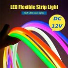 Led Neon Lamp Sign Beer Soft Flexible Tube Strip Rope Bar Decoration Sports US