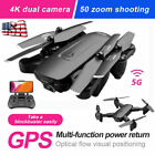 RC Drone with 1080P HD Camera Selfie Foldable Quad with Case US 4DRC-F6