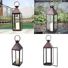 Windproof Tea Light Candle Holder Hanging Outdoor Garden Candle Lantern Lamp