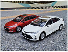 1/18 ALL NEW Toyota Corolla 12th 2019 diecast car model Boys Girls Gifts White