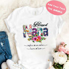 Best Blessed Nana Personalized Shirt, Best Gift For Grandma, Mother's Day Gift