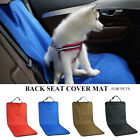 For Dog Cat Waterproof Car Back Seat Pet Cover Protector Mat Rear Safety Travel