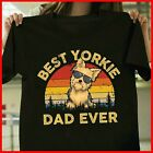 Best Yorkie Dad Ever T-Shirt, Fathers Day Shirt Gift For Dad