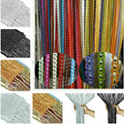 Glitter Door String Curtain Panels Fly Screen Room Divider Window Voile Curtains