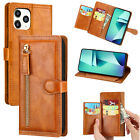 Case For iPhone 12 Pro Max 11 XS XR X 8 7 Plus Flip Wallet Leather Stand Cover