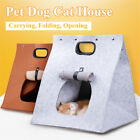 Pet Dog Cat House Cushion Blanket Bed Portable Travel Warm Bag Carrie