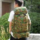 US 80L Military Tactical Backpack Army Molle Pack Bug Outdoor Bag Hiking Trave