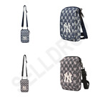 2021 New MLB Korea Official Jacquard Monogram Pouch NY Yankees 2Colors