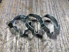 VINTAGE BICYCLE BIKE SHIFTER / BRAKE CABLE CLAMPS NOS